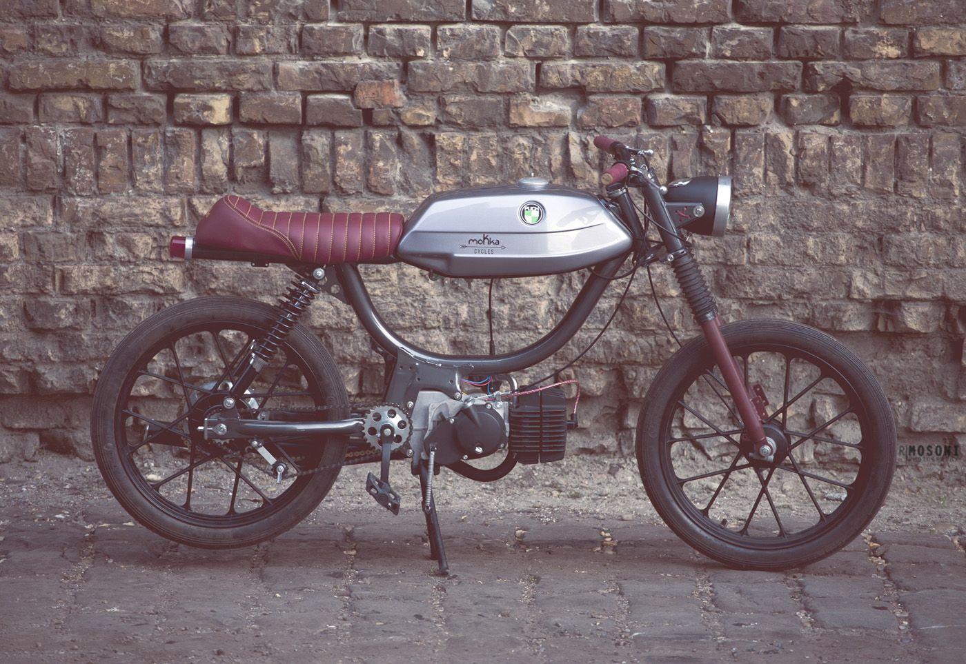 moped caferacer frame google search vehicles vintage. Black Bedroom Furniture Sets. Home Design Ideas