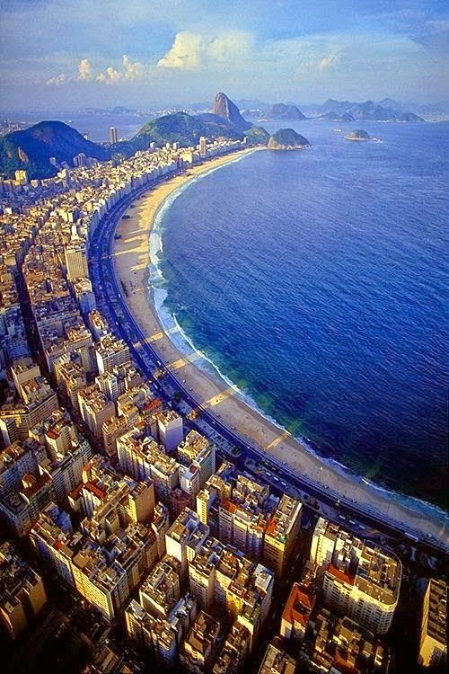 Brasil - Praia de Copacabana - Rio de Janeiro