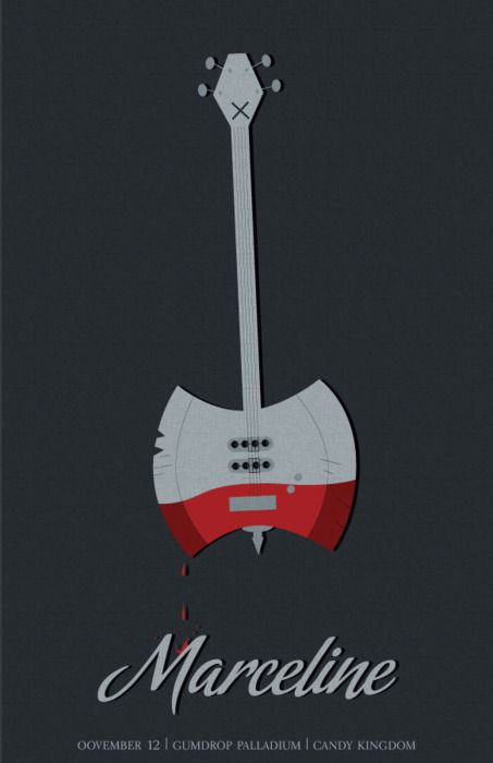 I want a whole album from Marceline and Marshall Lee. Come on, AdventureTime.