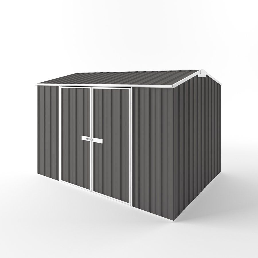 Endurashed 10 Ft X 8 Galvanized Steel Storage Shed At Lowe S Canada Find Our Selection Of Sheds Slate Gray The Lowest Price Guaranteed