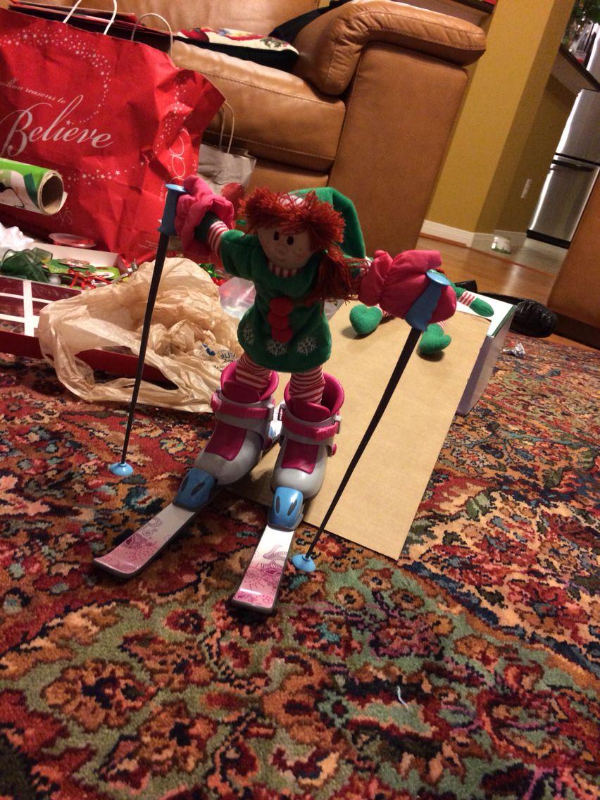 Elf hitting the slopes