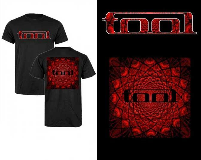 Tool Band Shirt -    wwwband-tees store T_0450_088!FEA Tool - fresh blueprint party band