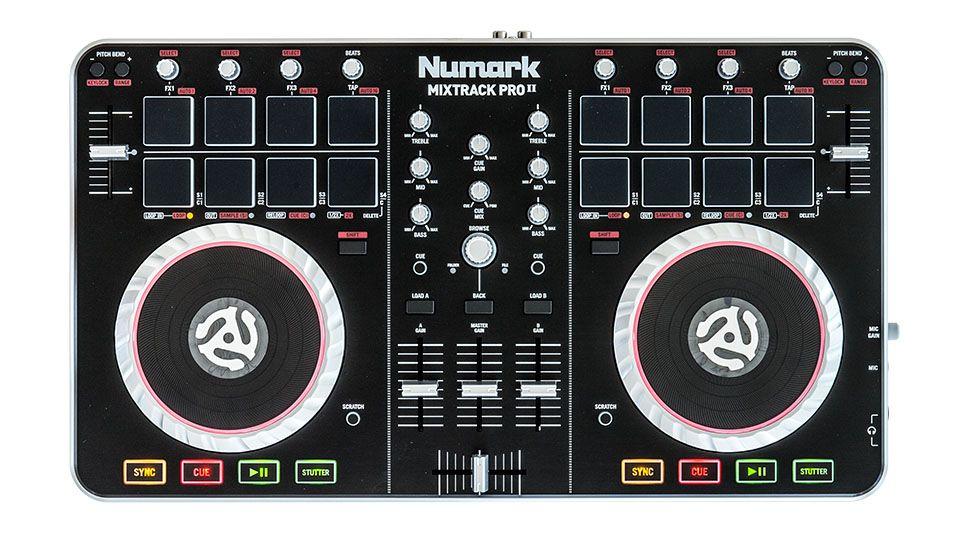 Numark Mixtrack Pro Ii Dj Digital Dj Dj Pro