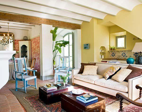 Casa de campo con encanto andaluz boho - Cocinas con encanto ...