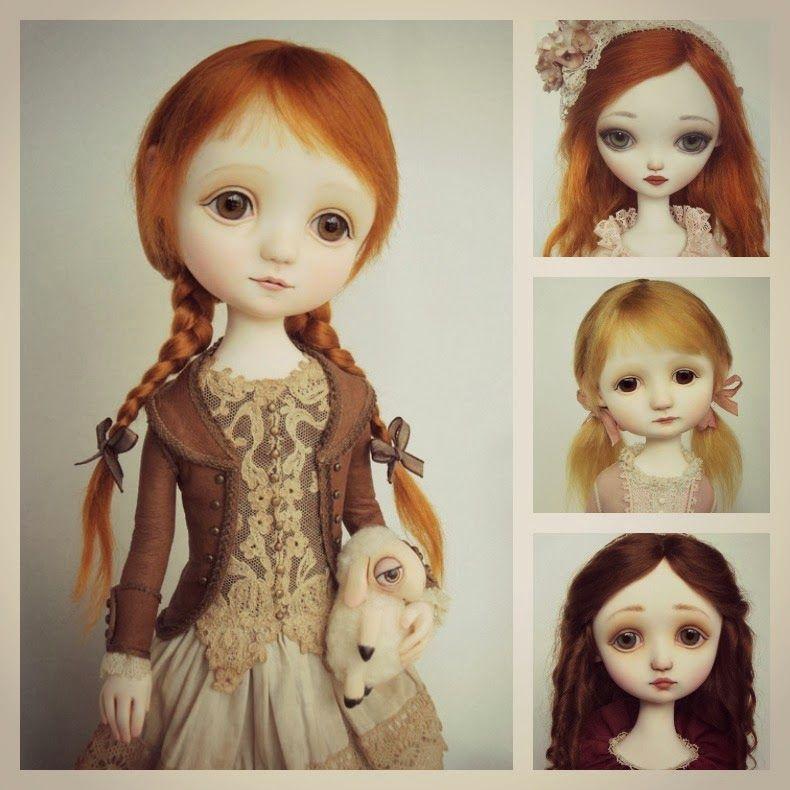muñecos porcelana cuerpo de tela - Buscar con Google | muñecas ...