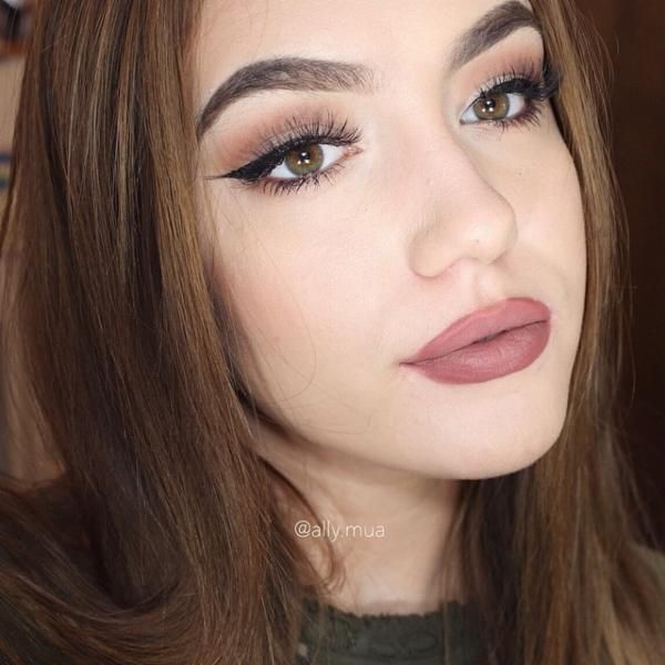 E75 Angled Brow Brush Brows Lip Hair Hair Beauty