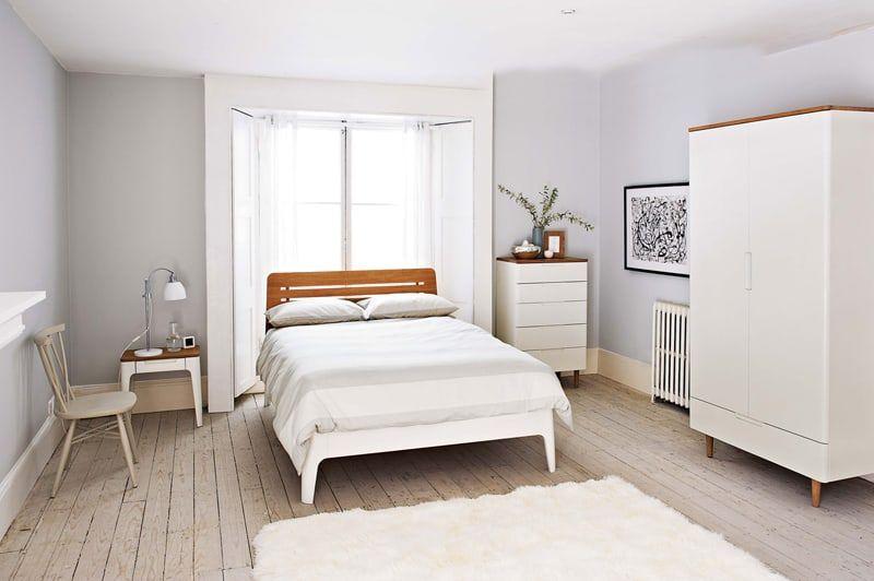 50 Ideen für ein Bett vor einem Fenster Schlafzimmer