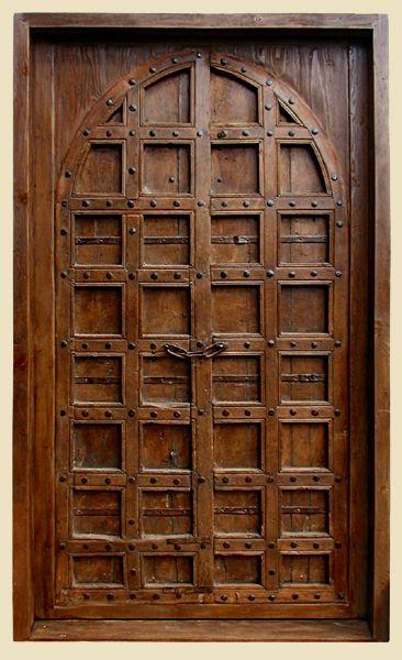 Blog Teak Wood Main Door Design In India: Constructed Of Antique Indian Teak Door And Reclaimed