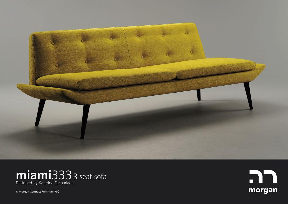 Amazing 35 Elegant Mid Century Sofas For Modern Interior With Yellow Sofa
