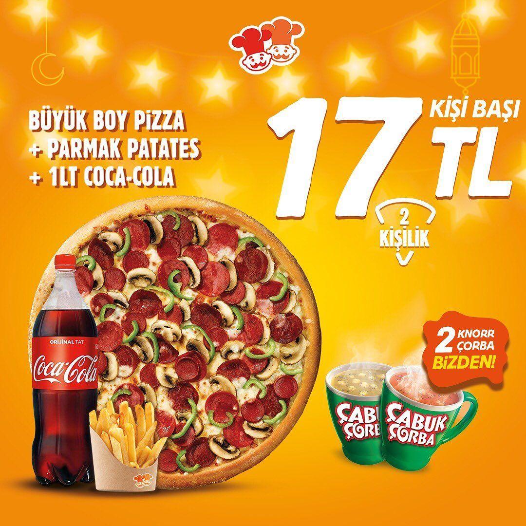 Pizza Pizza Mersin Pozcu Ramazan 2019 Iftar Menusu Kampanyasi Ve Fiyatlar Iftar Menusu Pizza Pizza Iftar Menusu Ramazan Firsati Buyuk Bo Iftar Pizza Corbalar