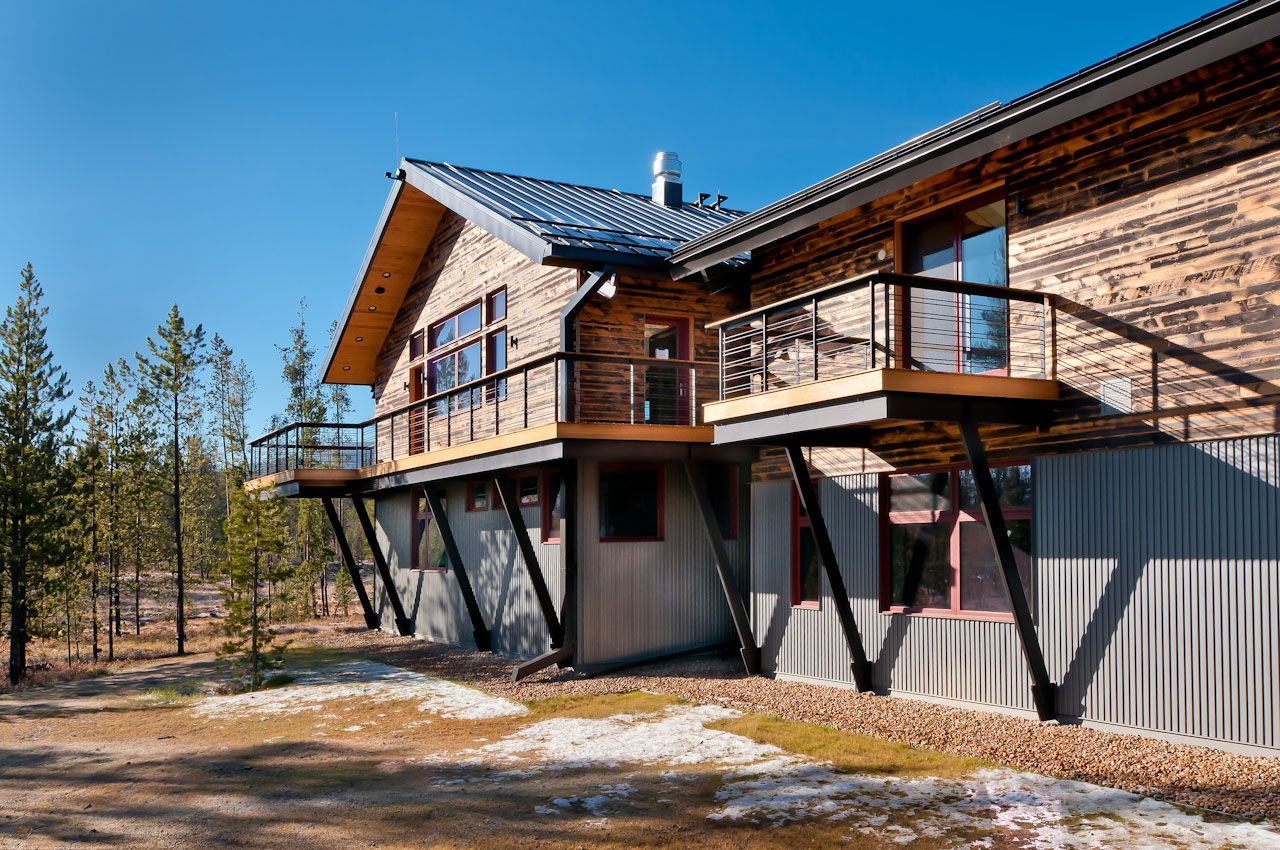 Centennial Woods Is One Of The Largest Providers Of Reclaimed Wood In The World Repurposing Old Snow Fences From Wyom Wood Siding Exterior Reclaimed Wood Wood