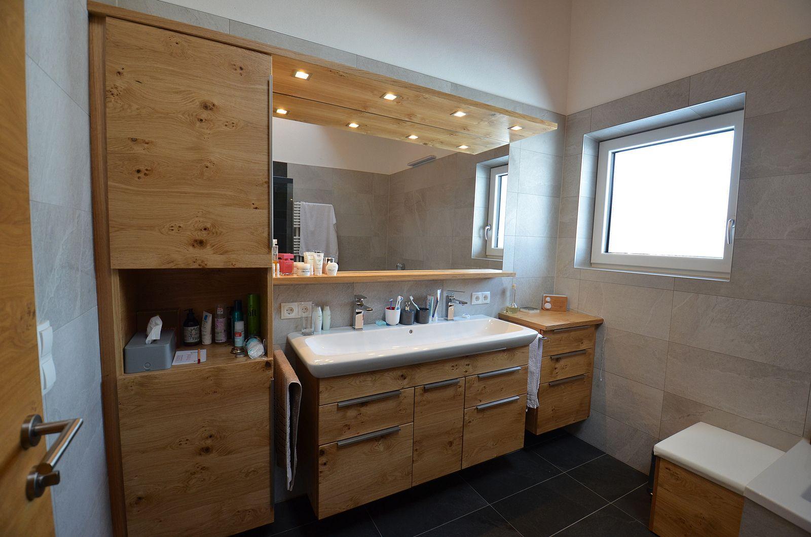 Badezimmer Ideen für Ihr zu Hause. Bad Möbel in Eiche ...