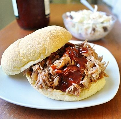 Dr. Pepper Pulled Pork  - great way to feed a crowd those summer get-togethers!