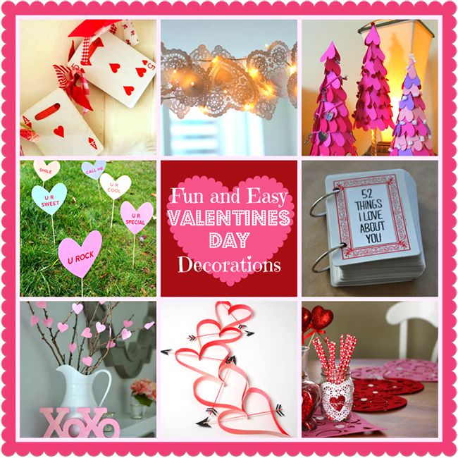 Diy Home Decoration Ideas For Valentine S Day Heart Garland