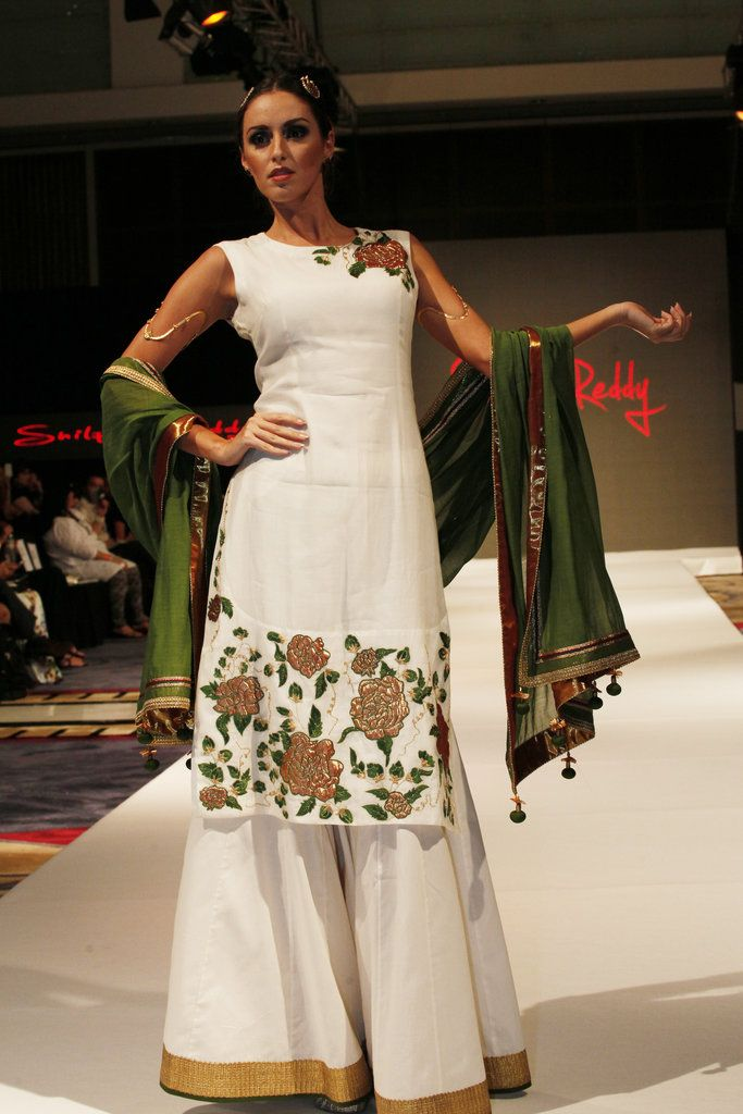 Designer Shilpa Reddy showcased her collection at India