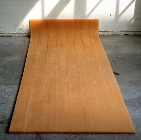 whitehotel:  Rachel Whiteread, Untitled (amber floor) (1993)