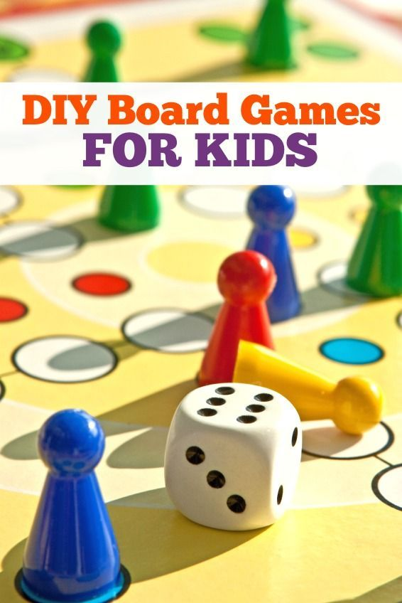 12 DIY Board Games for Kids | Board and Family game night