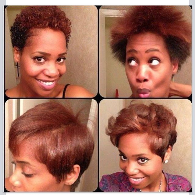 Fun Short And Natural Hair Styles Curly Or Straight With Images