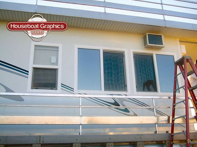 Houseboatgraphicsboatgraphicsvinyldecals Graphics - Custom designed houseboat graphics