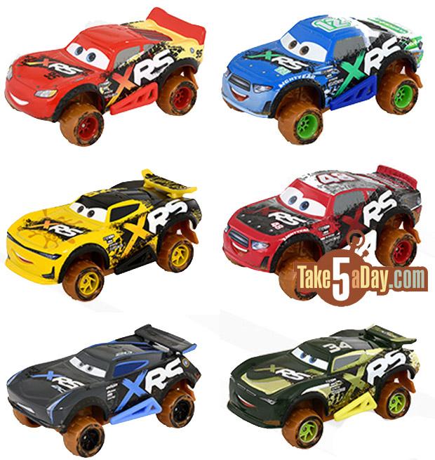 Disney Pixar Cars XRS boue Racing
