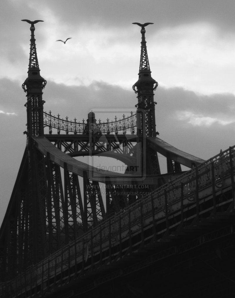 Liberty Bridge -Budapest- by NAkos.deviantart.com on @deviantART