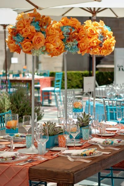 Orange And Aqua: The Hottest Décor Trends For Summer 2013