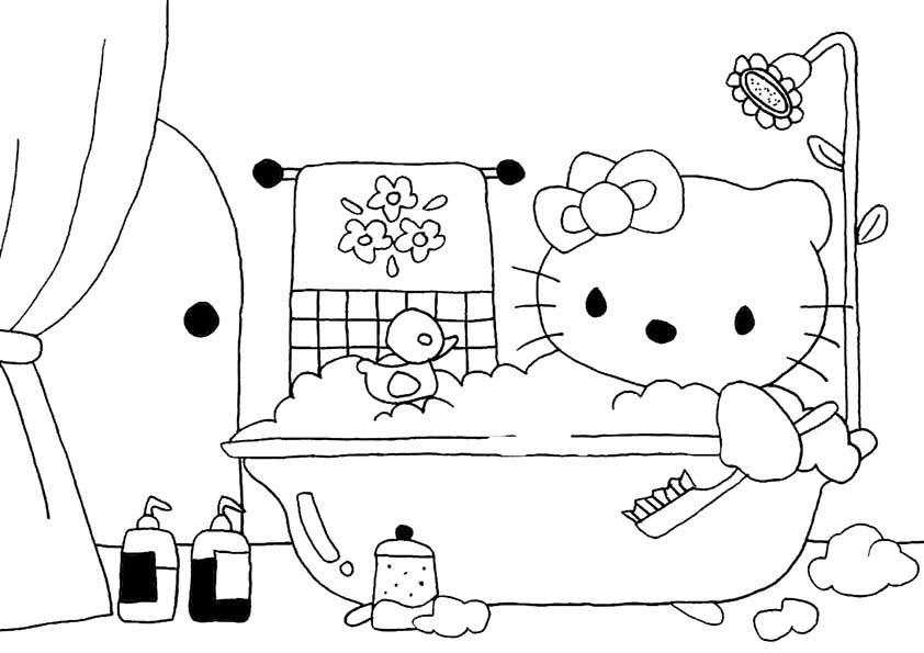 ausmalbild hello kittyausmalbilder hello kitty  dekorasi