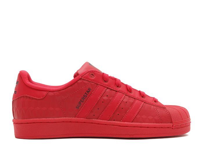 adidas superstar triple red