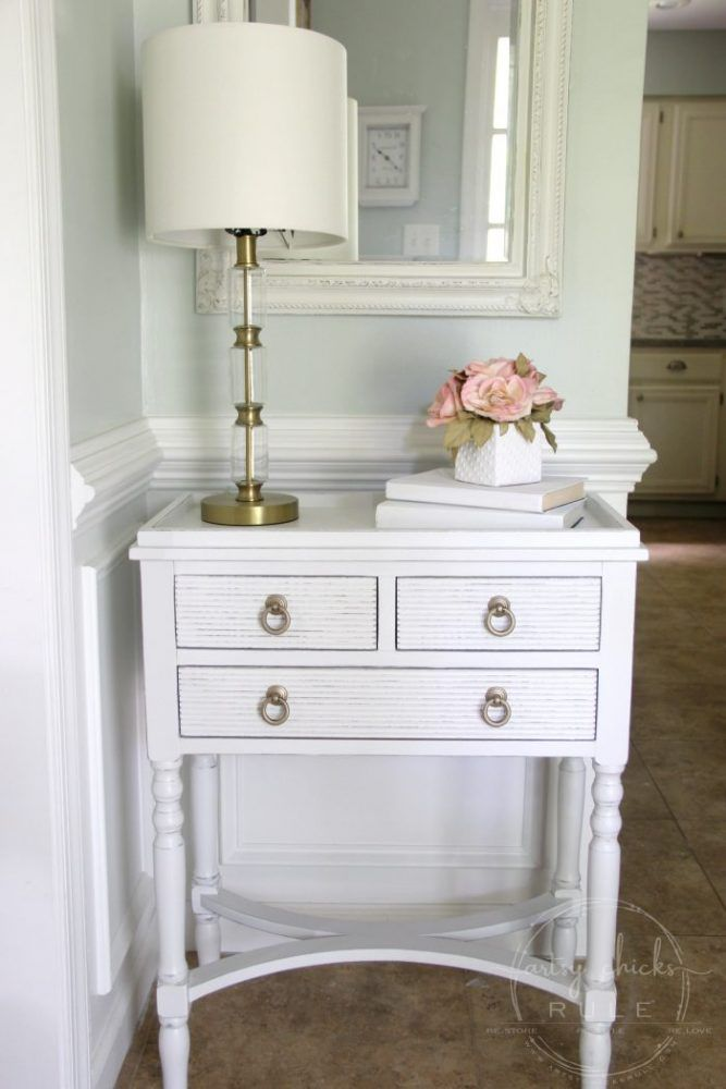 Simple Table Update With Chalk Paint