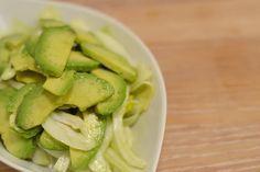 Fennikel & avocadosalat med vinagrette av hvit balsamico — MATVRAKBLOGGEN