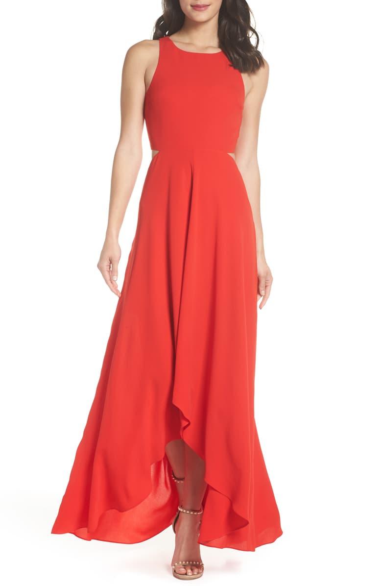 Ali Jay Cutout Maxi Dress Nordstrom Cutout Maxi Dress Wedding Guest Dress Summer Formal Wedding Guest Dress [ 1196 x 780 Pixel ]