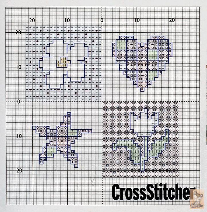 Вышивка крестом на открытках схемы, народные праздники