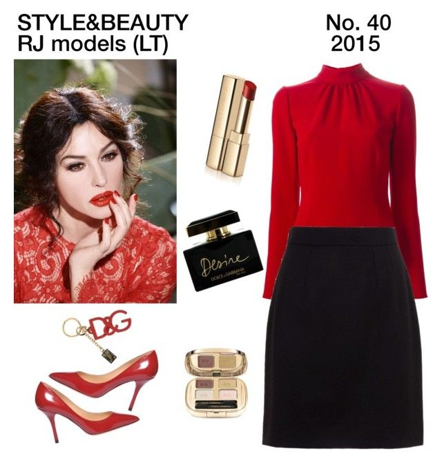 """""""Style&Beauty. No.40"""" by rasaj ❤ liked on Polyvore featuring Dolce&Gabbana"""