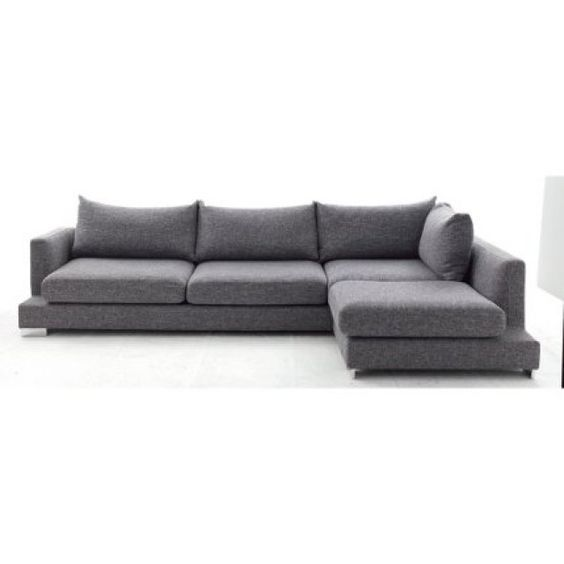 canape d angle colomba gris fly