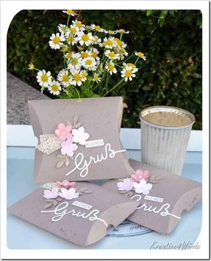 pillow box kleiner gru papier pinterest verpackung schachteln und schachtel. Black Bedroom Furniture Sets. Home Design Ideas