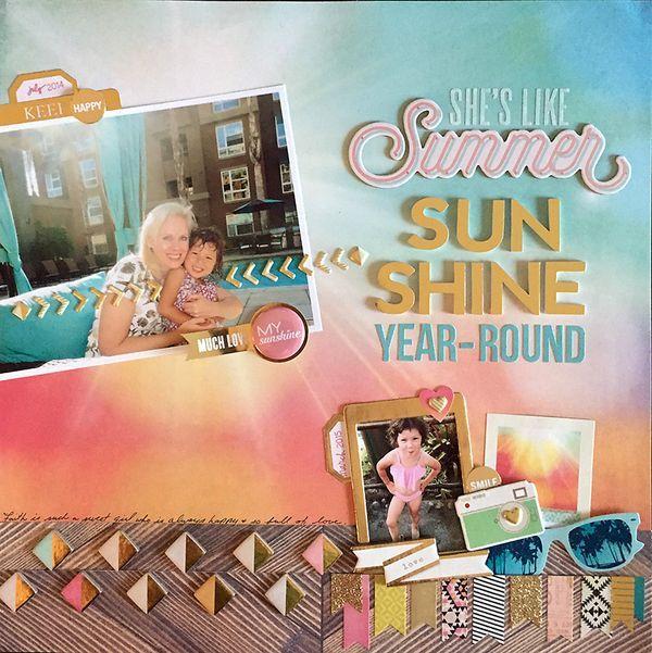 She's Like Summer Sunshine Year Round