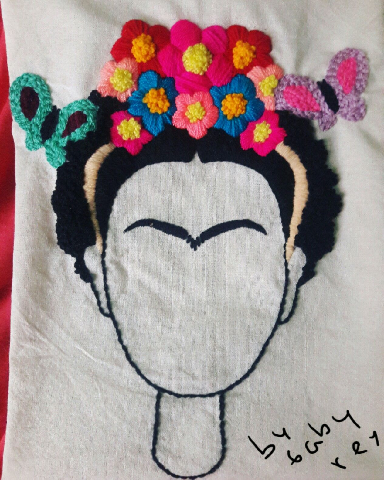 Bordado mexicano, frida kahlo | Bordado | Embroidery, Mexican ...