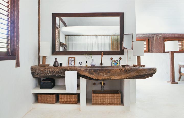 wood sink >> Gorgeous!