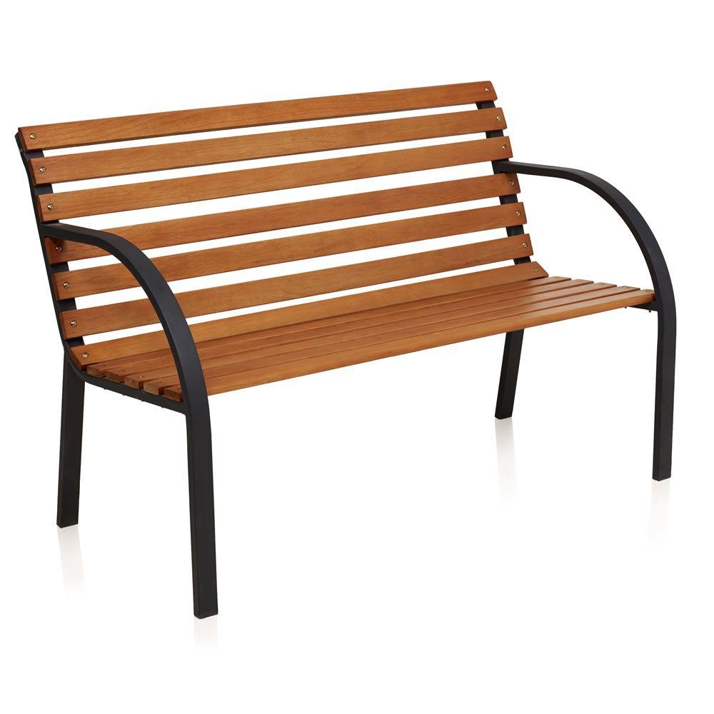 Wilko Park Bench 12 Slat FSC | Wilko | SS17 Outdoor Furniture ...