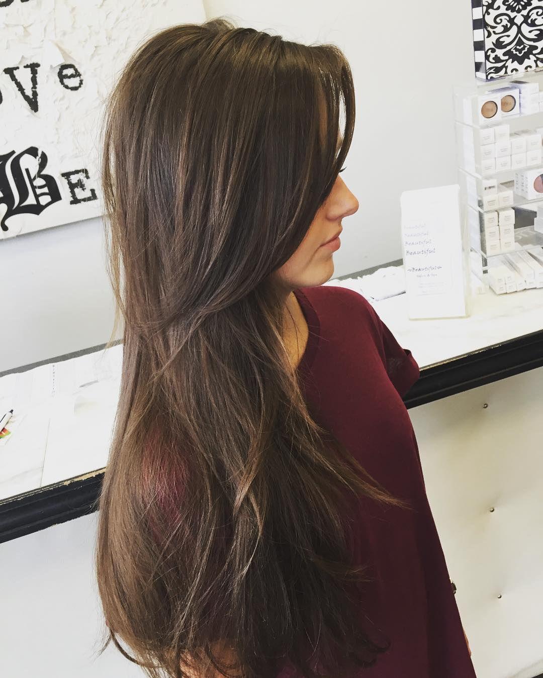 long layers for thin hair … | haircut | pinte…