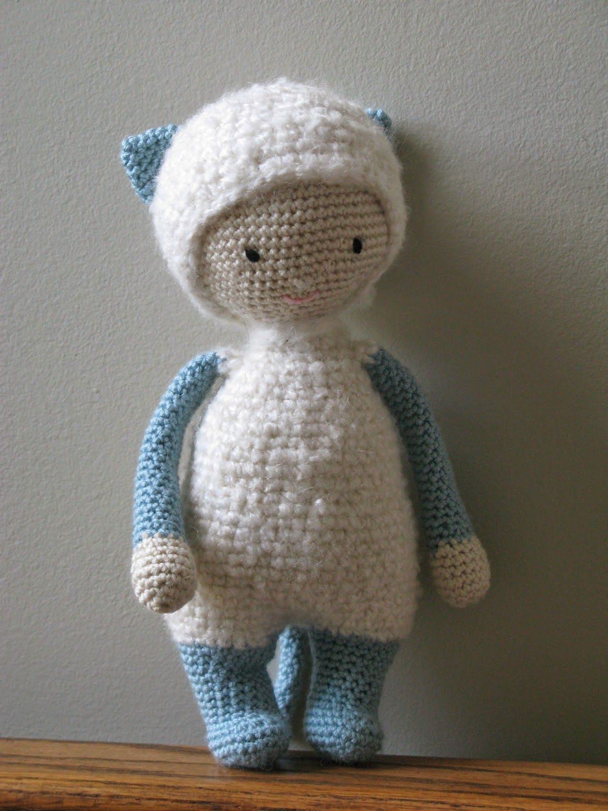 CROCHET KITTY PATTERN PDF Version Materials used: partial ball of ...