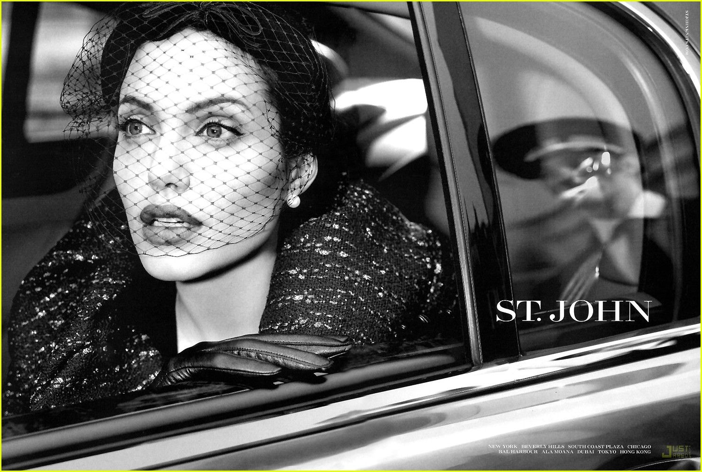 Angelina Jolie - St. John Ad - justjared.buzznet