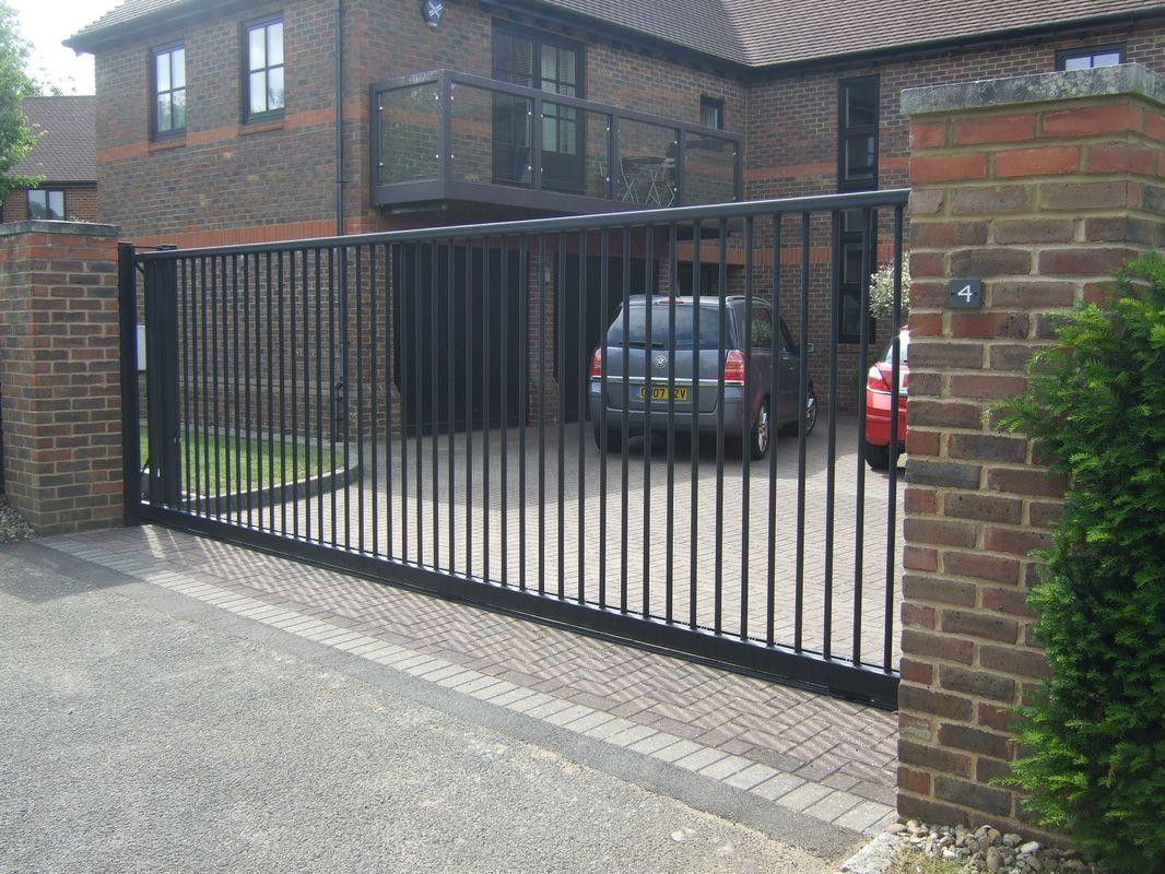 No 16 Sl Design Sliding Gates Pinterest Gates
