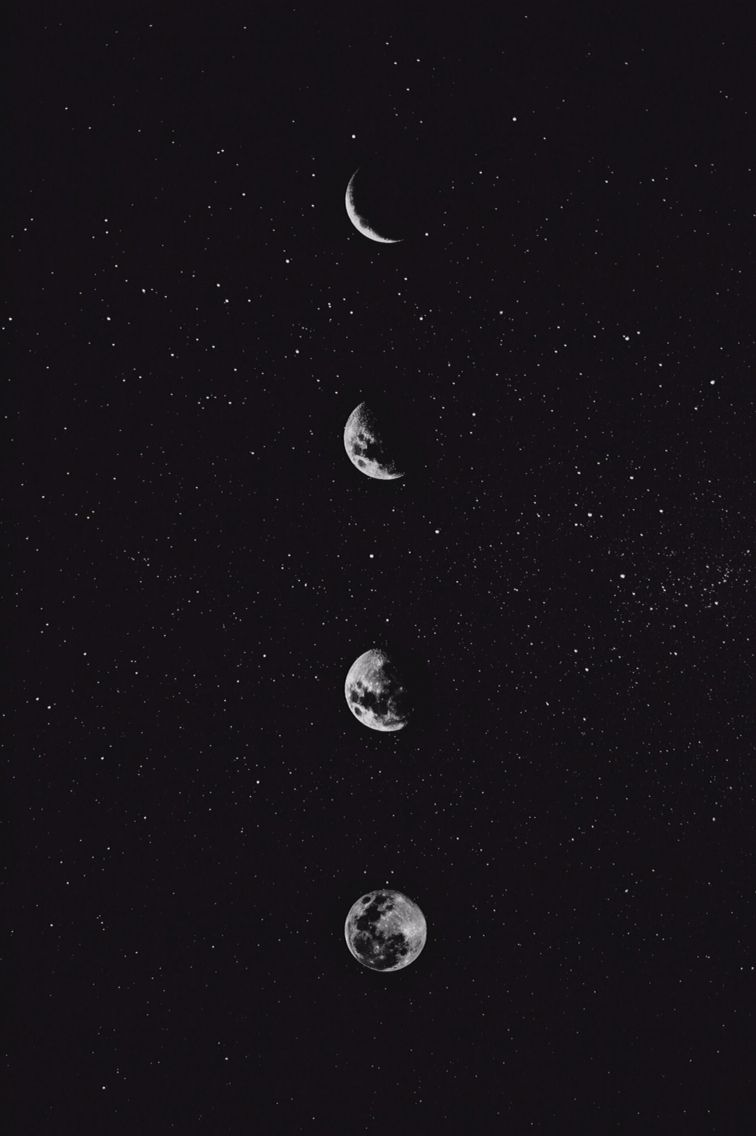 moon phase wallpaper iphone