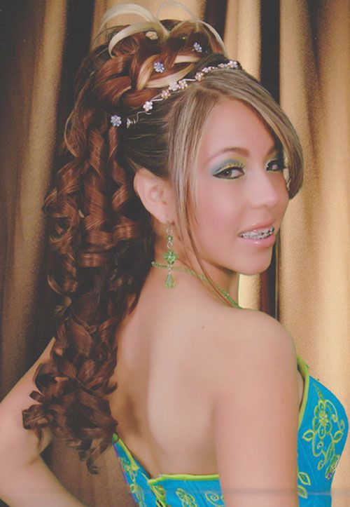 Quinceanera Hairstyles for Long Curly Hair Quinceanera Hairstyles ...