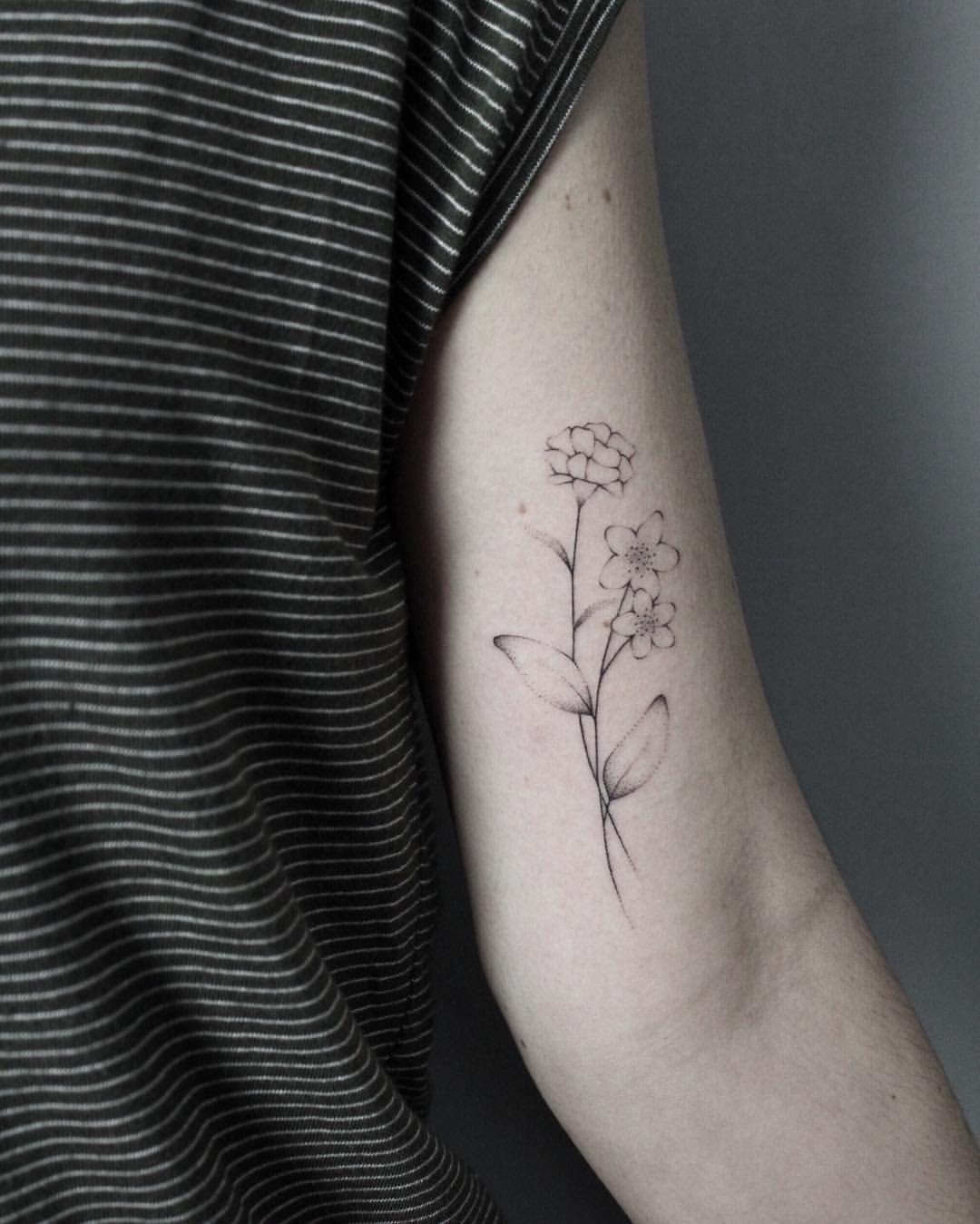 Small Jasmine Flower Tattoo : small, jasmine, flower, tattoo, Instagram, Photo, @laramaju, Likes, Jasmine, Flower, Tattoos,, Tattoo,, Tattoos