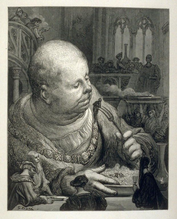 Gustave Dore Illustration From Gargantua And Pantagruel Gustave Dore Art Artist