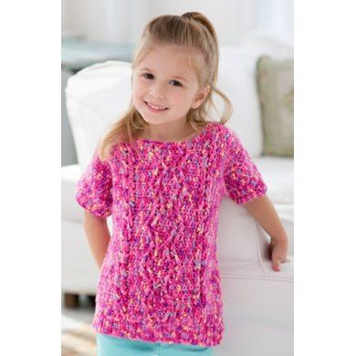 Girl S Crochet Cable Sweater In Red Heart Gumdrop Lw3985 Knitting Patterns Loveknitting Crochet Baby Sweater Pattern Sweater Crochet Pattern Crochet Cable