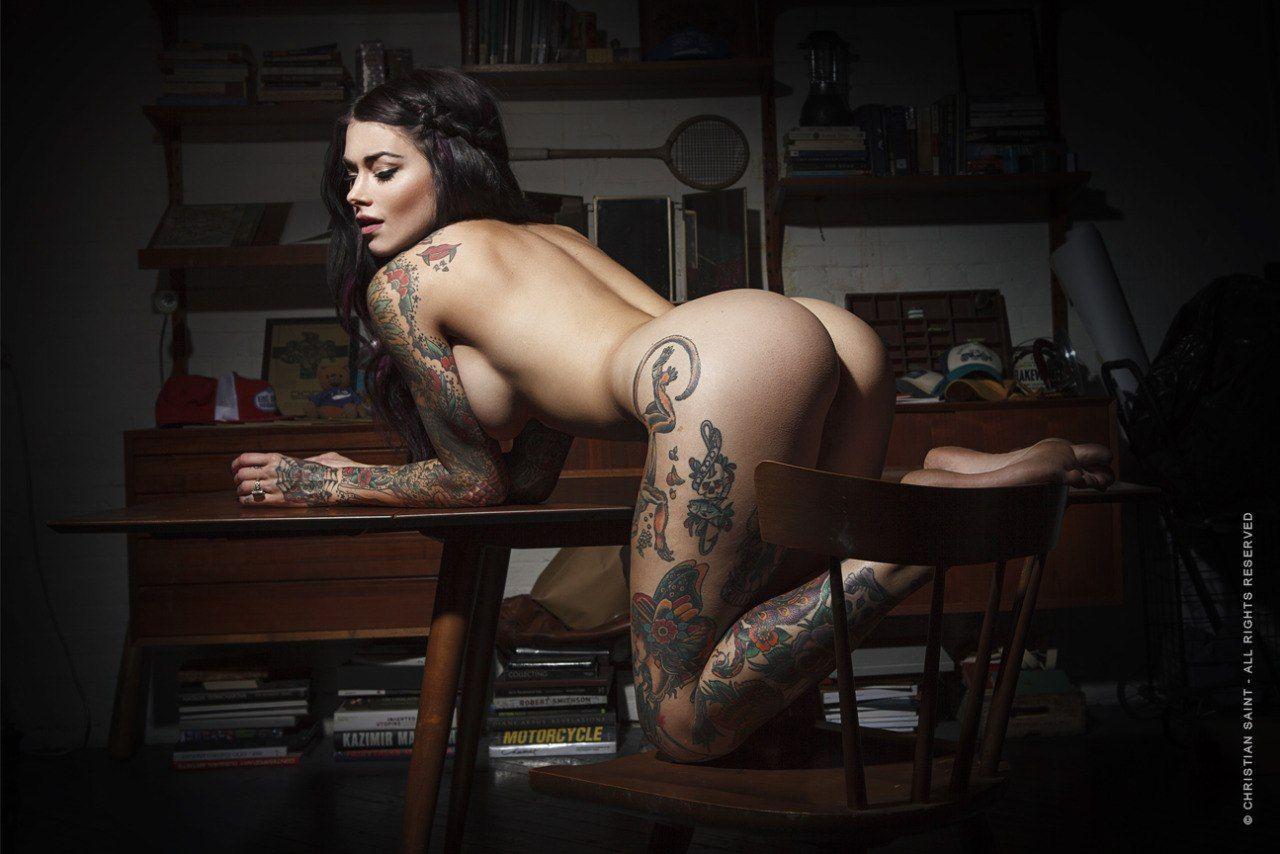 Laydi Marie  Hot Models Always Have Tats-5666