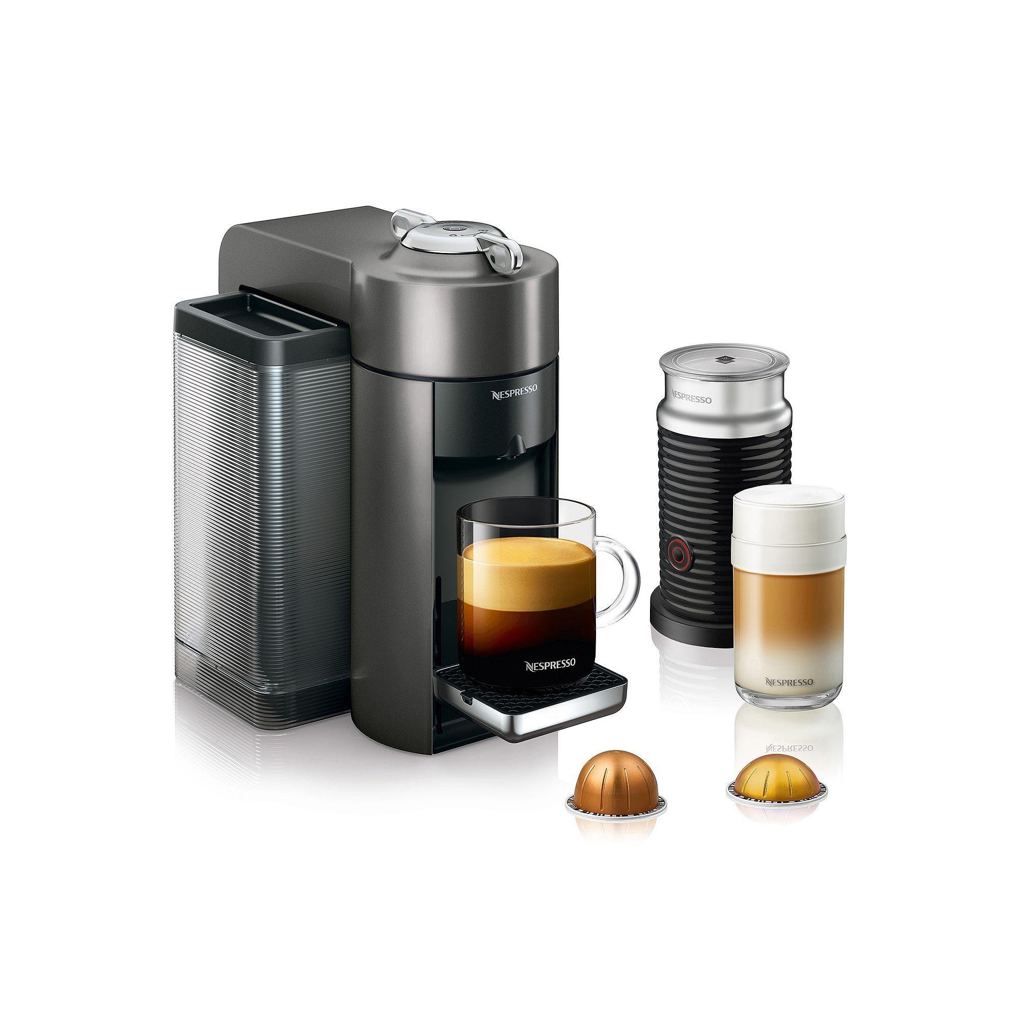 Nespresso Vertuo Coffee & Espresso Machine with Aeroccino
